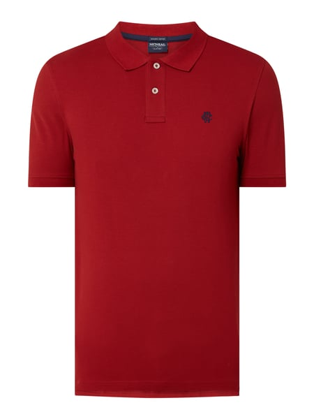 MCNEAL Poloshirt aus Bio-Baumwolle Modell 'Toby' Rot - 1