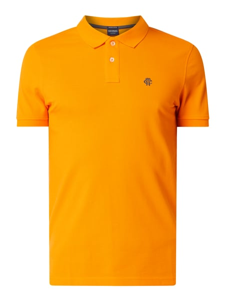 MCNEAL Poloshirt aus Organic Cotton Orange - 1