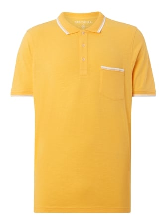 Poloshirt mit Brusttasche Orange - 1