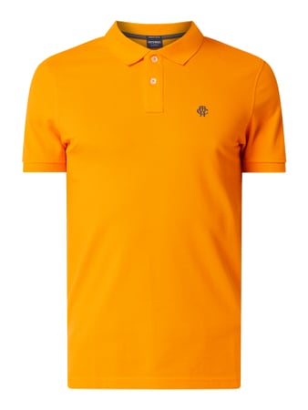 MCNEAL Poloshirt mit Logo-Stickerei Orange - 1