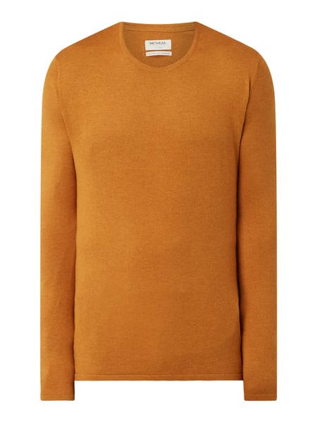 MCNEAL Pullover aus Baumwolle Modell 'Caeser' Gold - 1