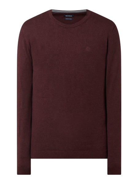 MCNEAL Pullover aus Baumwolle Modell 'Santo' Rot - 1