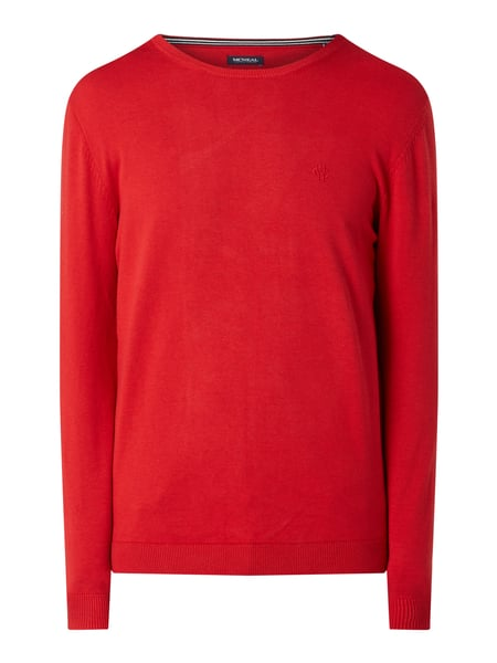 MCNEAL Pullover aus Organic Cotton Rot - 1
