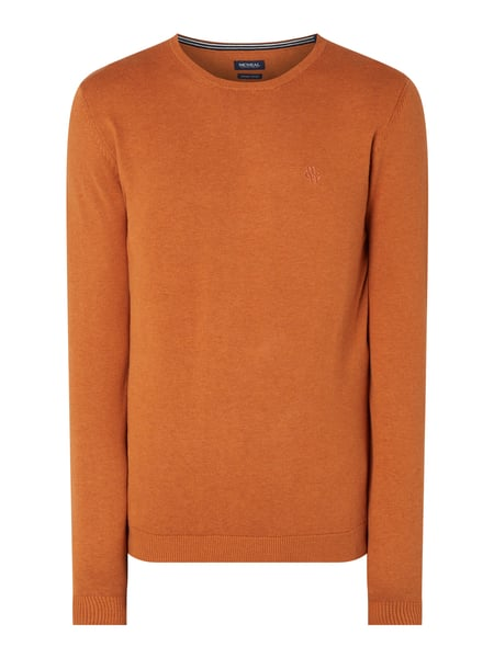 MCNEAL Pullover aus Organic Cotton Orange - 1