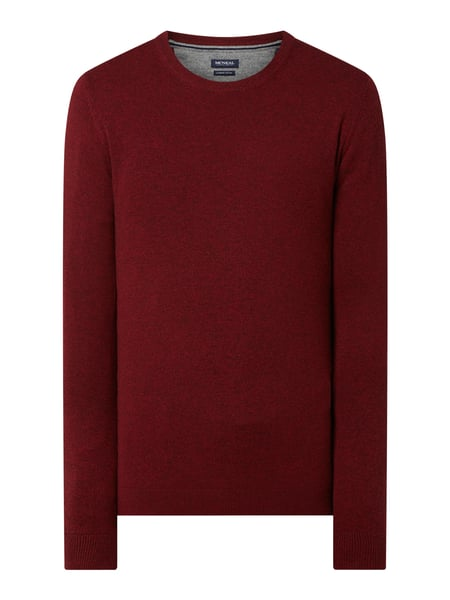 MCNEAL Pullover aus Wollmischung Modell 'Filo' Rot - 1