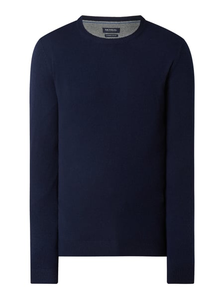 MCNEAL Pullover aus Wollmischung Modell 'Filo' Blau - 1