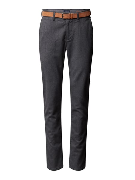 MCNEAL Regular Fit Chino mit Stretch-Anteil Modell 'John' Grau - 1