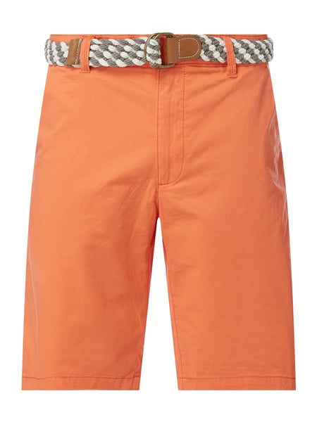 MCNEAL Regular Fit Chino-Shorts Modell 'Luca' Orange - 1