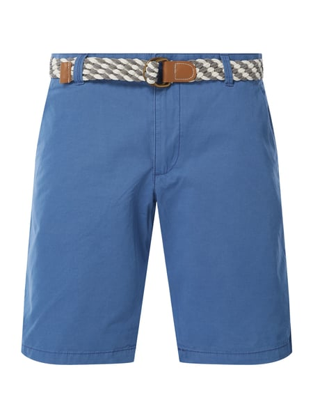 MCNEAL Regular Fit Chino-Shorts Modell 'Luca' Blau - 1