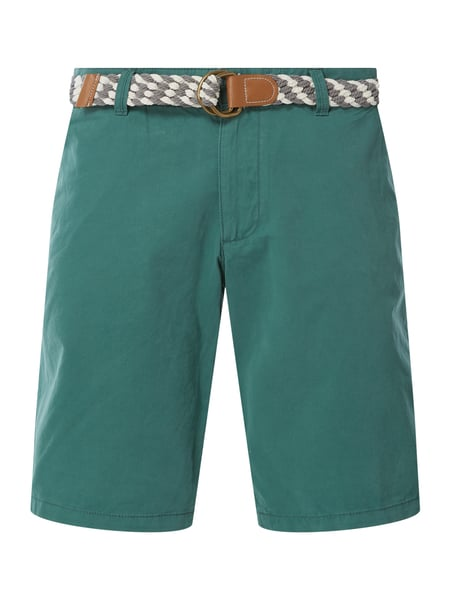 MCNEAL Regular Fit Chino-Shorts Modell 'Luca' Grün - 1
