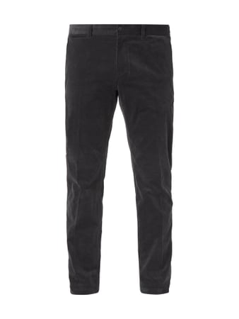 MCNEAL Slim Fit Chino aus Cord Grau - 1