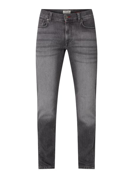 MCNEAL Slim Fit Jeans mit Stretch-Anteil Grau - 1
