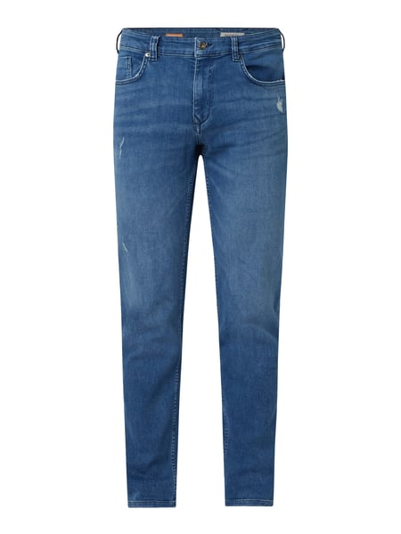 MCNEAL Slim Fit Jeans mit Stretch-Anteil Modell 'Don' Blau - 1