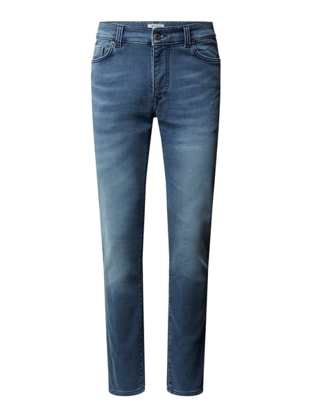 MCNEAL Slim Fit Jogg Denim mit hohem Stretch-Anteil Modell 'Matt' Blau - 1