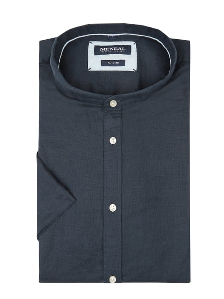 MCNEAL Tailored Fit Freizeithemd mit kurzem Arm Blau / Türkis - 1
