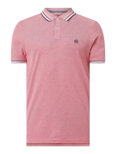 MCNEAL Slim Fit Poloshirt aus Baumwolle Rosa - 1
