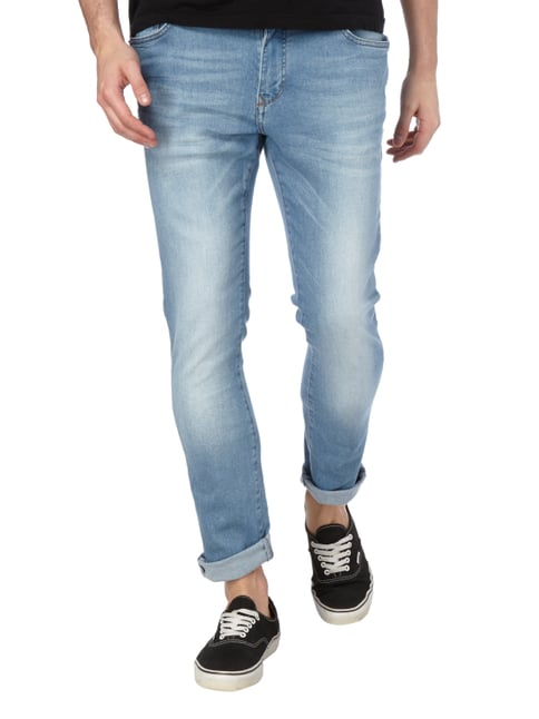 MCNEAL Stone Washed 5-Pocket-Jeans Hellblau - 1