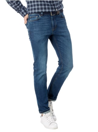 MCNEAL Stone Washed Slim Fit 5-Pocket-Jeans Jeans - 1