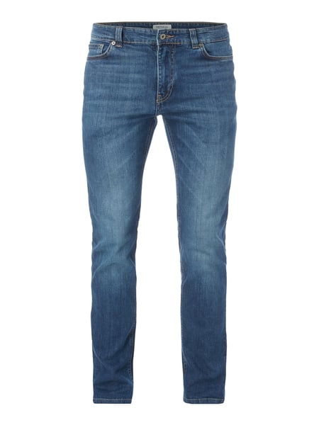 MCNEAL Stone Washed Slim Fit 5-Pocket-Jeans Jeans