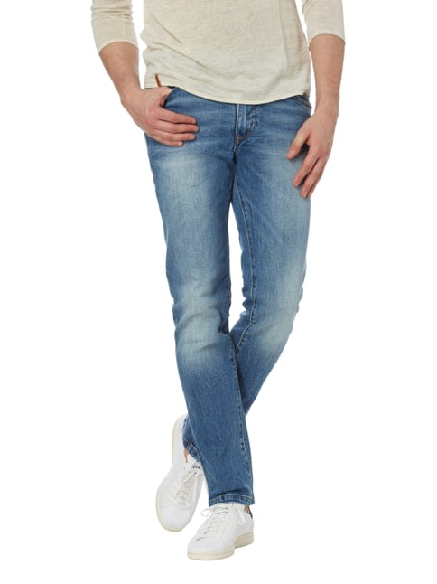 MCNEAL Stone Washed Slim Fit Jeans Bleu - 1