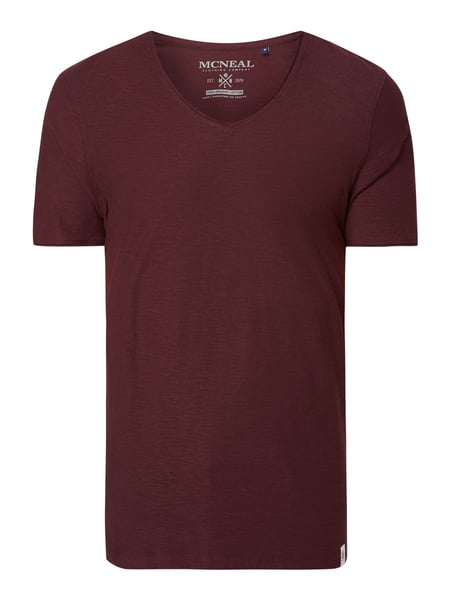 MCNEAL T-Shirt aus Organic Cotton Rot - 1