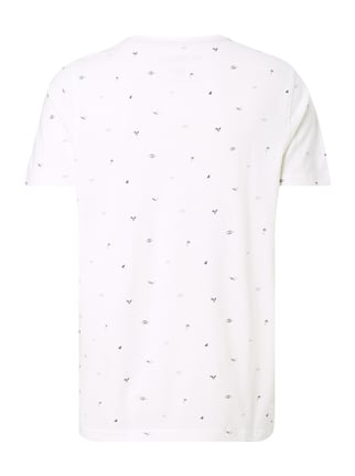 MCNEAL T-Shirt mit Allover-Muster Offwhite - 1