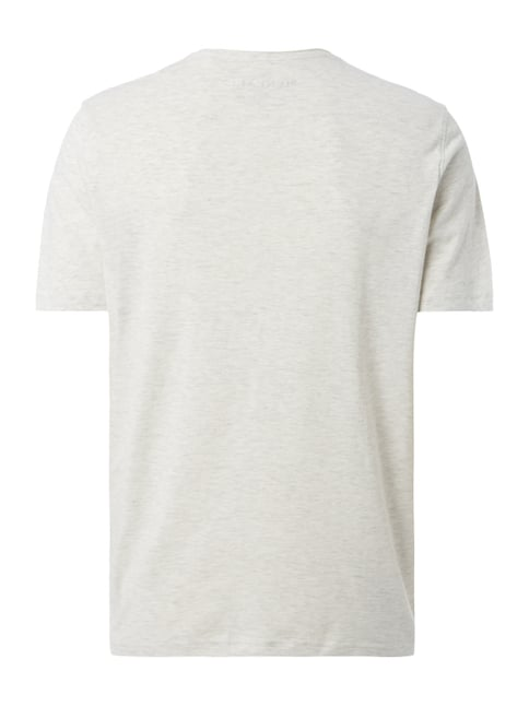 MCNEAL T-Shirt mit Logo-Print Offwhite meliert - 1