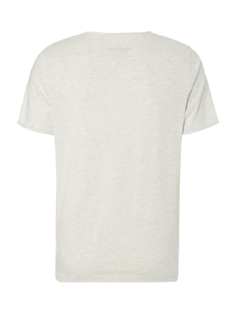 MCNEAL T-Shirt mit Print Offwhite meliert - 1