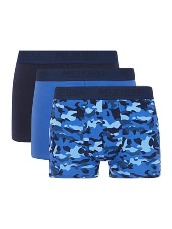 Trunks im 3er-Pack Blau / Türkis - 1
