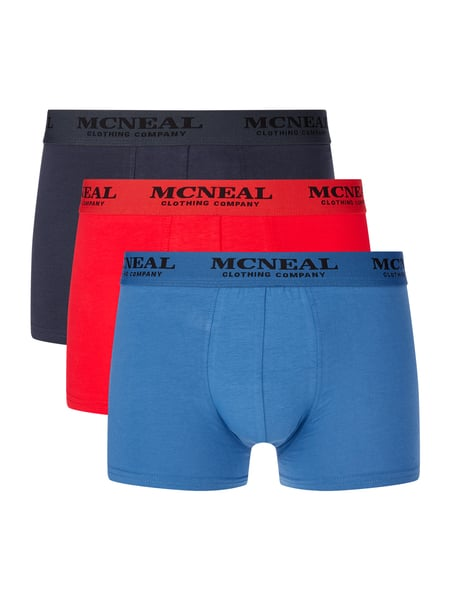 MCNEAL Trunks im 3er-Pack Rot - 1