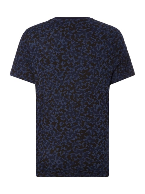 Michael Kors T-Shirt mit Camouflage-Muster Blau - 1