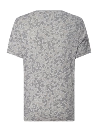 Michael Kors T-Shirt mit Camouflage-Muster Silber - 1