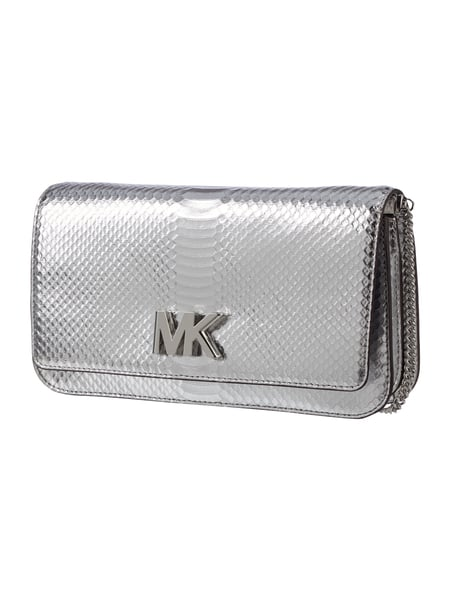 michael michael kors clutch in krokodillederoptik in grau schwarz online kaufen 9655528 p c. Black Bedroom Furniture Sets. Home Design Ideas