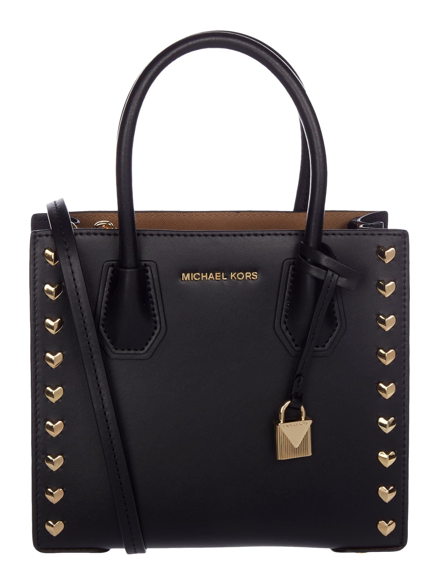 michael michael kors crossbody bag aus glattleder in grau schwarz online kaufen 9732923 p c. Black Bedroom Furniture Sets. Home Design Ideas