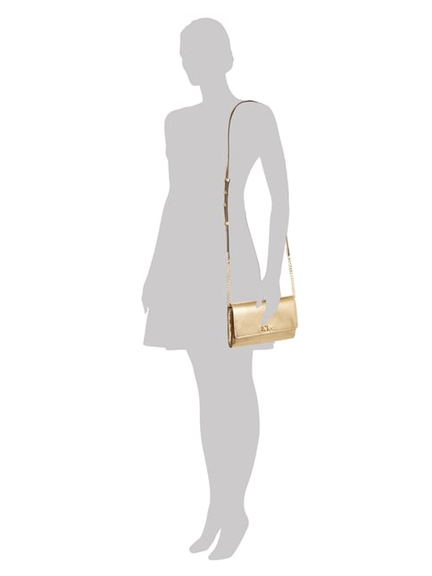 MICHAEL Michael Kors Crossbody Bag aus Leder in Gelb - 1