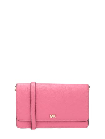 MICHAEL Michael Kors Crossbody Bag mit Logo-Applikation Rosé - 1