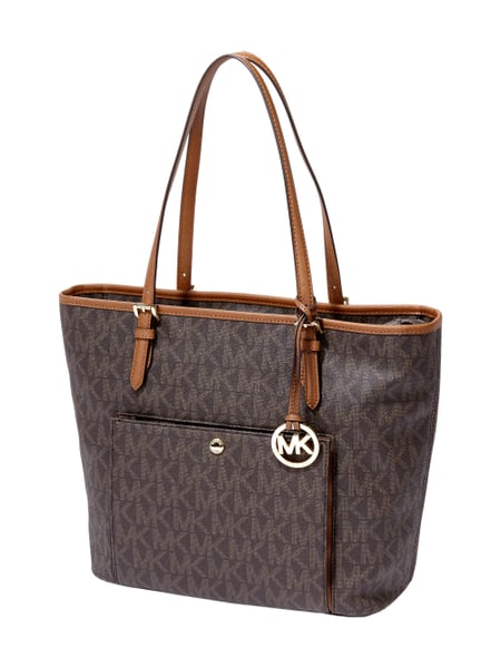 michael michael kors handtasche mit laptopfach in braun. Black Bedroom Furniture Sets. Home Design Ideas