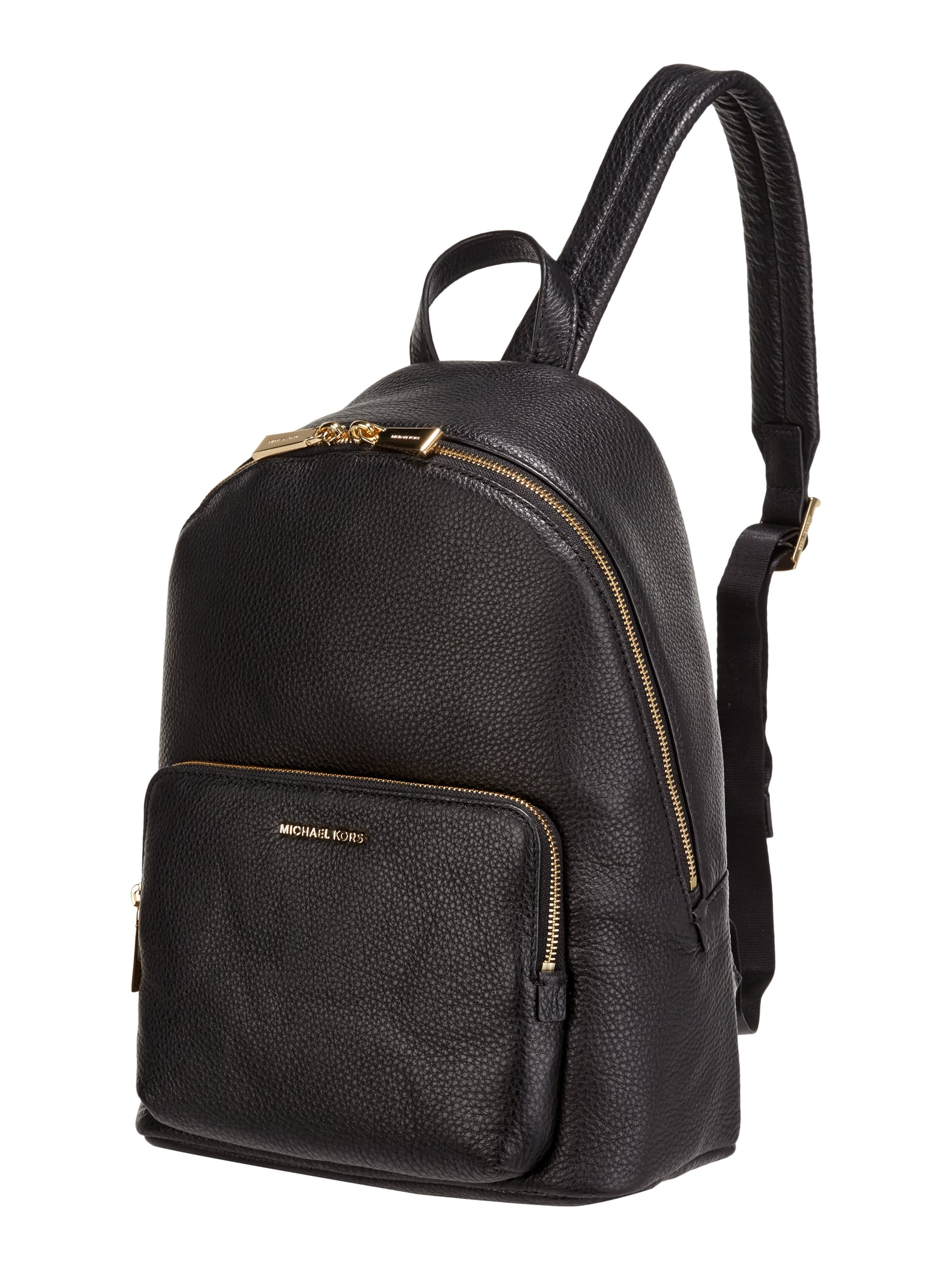 michael michael kors rucksack aus echtem leder in grau schwarz online kaufen 9732966 p c. Black Bedroom Furniture Sets. Home Design Ideas