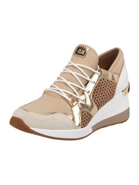 michael michael kors sneaker wedges 39 scout 39 mit perforationen in wei online kaufen 9740534 p. Black Bedroom Furniture Sets. Home Design Ideas