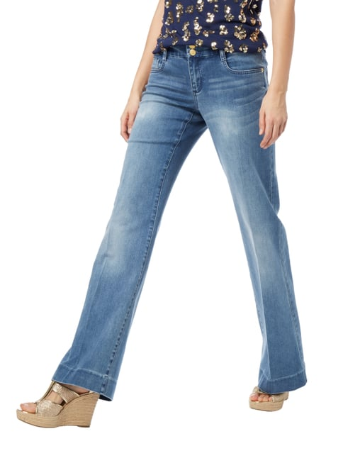 MICHAEL Michael Kors Stone Washed Flared Cut Jeans Jeans - 1