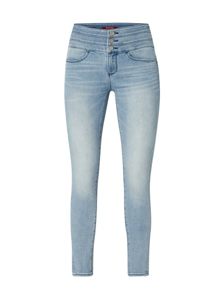 Miss Sixty Stone Washed Cropped Jeans Blau - 1