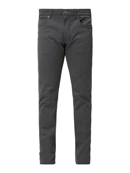 Montego 5-Pocket-Hose mit Stretch-Anteil Grau - 1