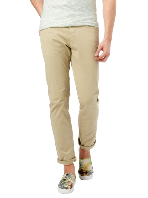 Montego 5-Pocket-Hose mit Stretch-Anteil Beige - 1
