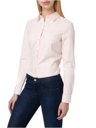 Montego Bluse mit Allover-Muster Rosé - 1