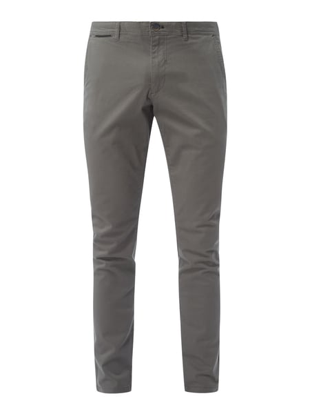 Montego Chino mit Stretch-Anteil Anthrazit