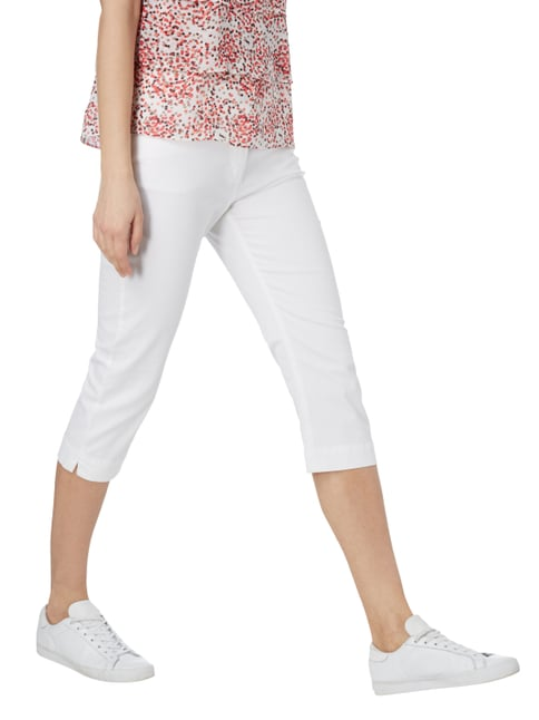 Montego Coloured Caprijeans mit Stretch-Anteil Weiß - 1