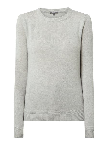 Montego Pullover aus Wolle Silber - 1