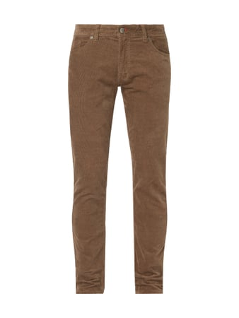 Montego Regular Fit Cordhose mit Stretch-Anteil Beige - 1
