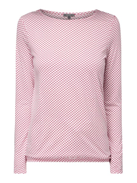 Montego Shirt mit Allover-Muster Rosa - 1