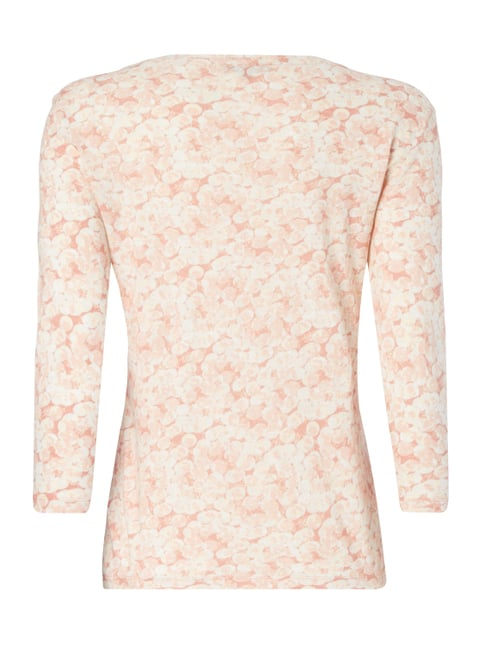 Montego Shirt mit Allover-Muster Metallic Rosa - 1